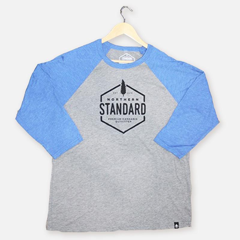 Northern Standard Unisex Raglan Shirt – Royal Blue