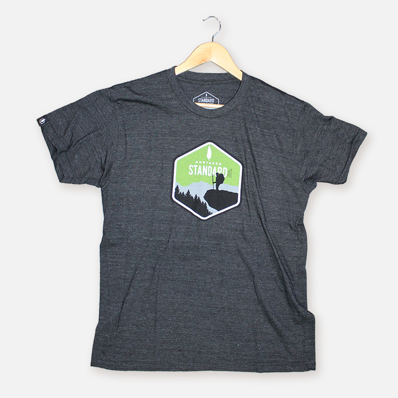 Hiker Men's Shirt – Charcoal
