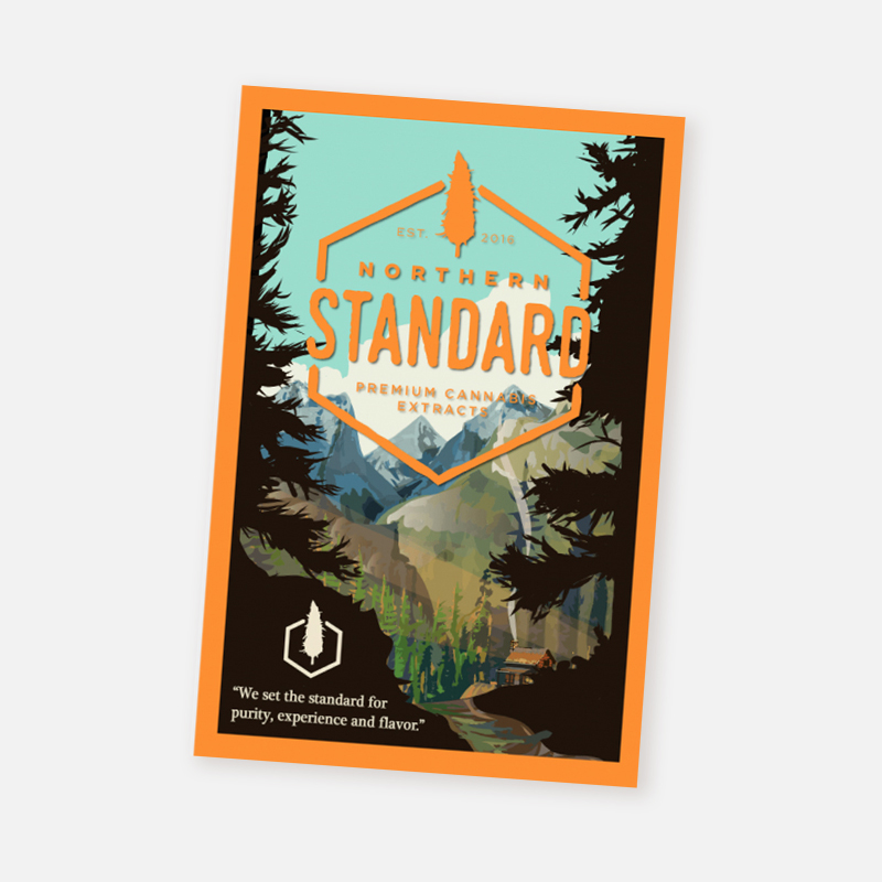 Postcard – National Park (Orange)
