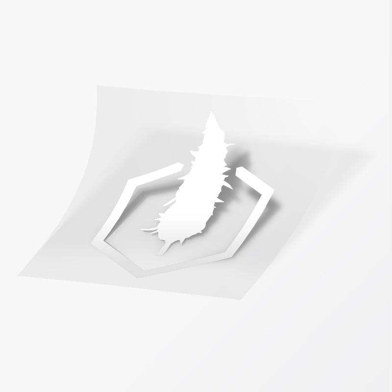 Sticker – Transfer Icon (White)