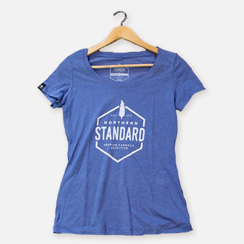 Northern Standard Women's Shirt – Heather Blue