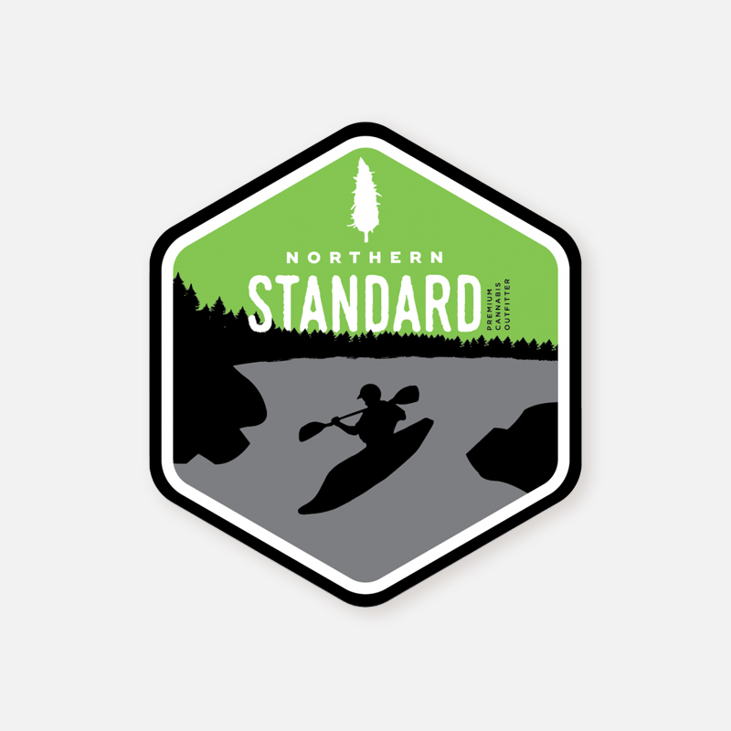 Sticker – Kayaker