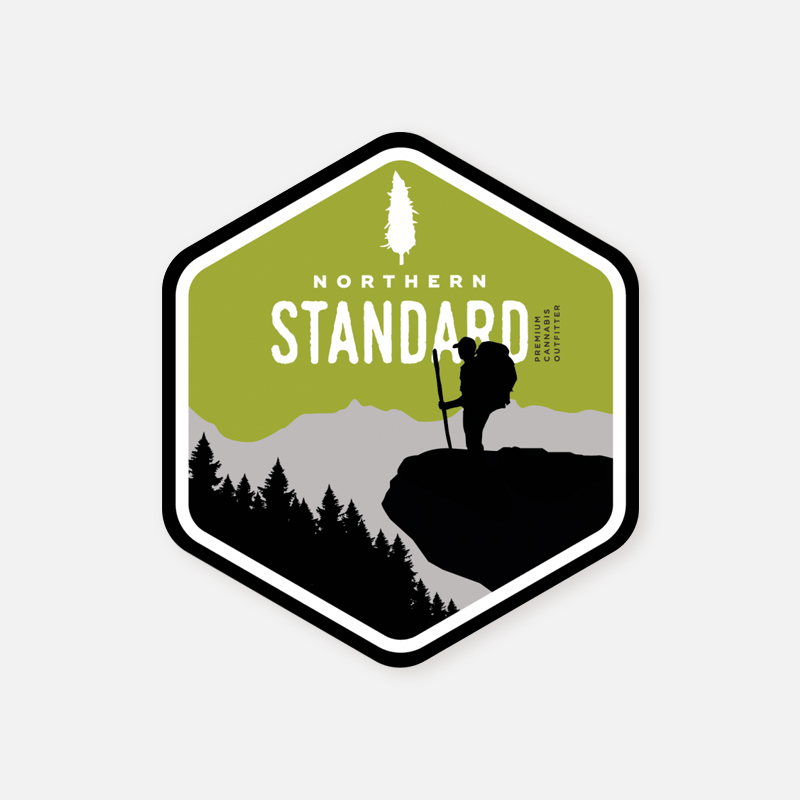 Sticker – Hiking