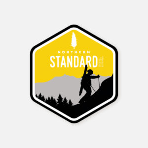 Sticker- Skier Hiker