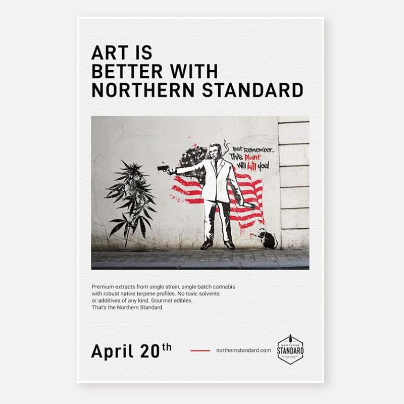 Poster – Art is Better : Street Art