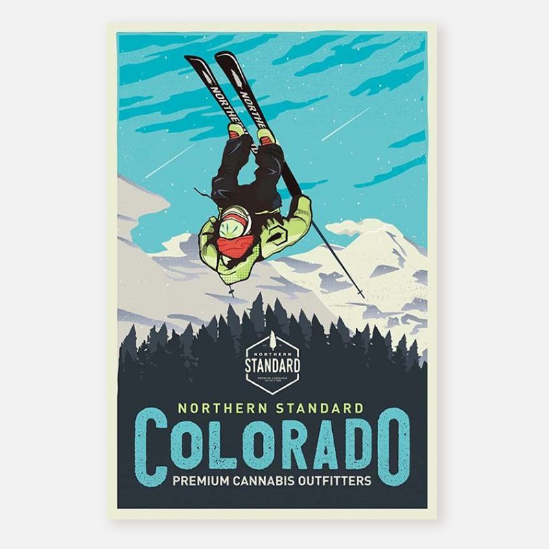 Poster – Skier