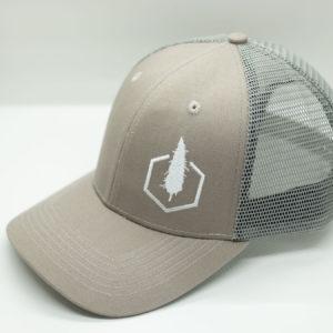 Grey Baseball Cap - Side