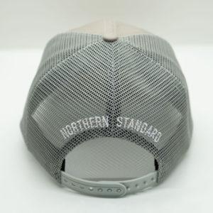Grey Baseball Cap - Back