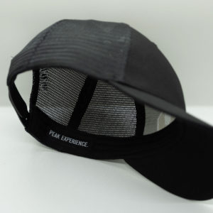 Black Baseball Cap - Under