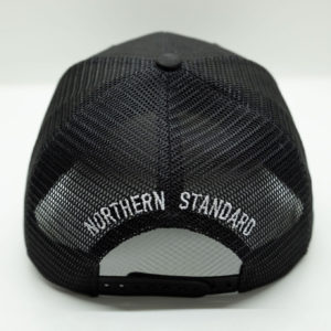 Black Baseball Cap - Back